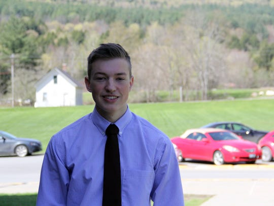 Caleb Eurich earned economics credit by working in