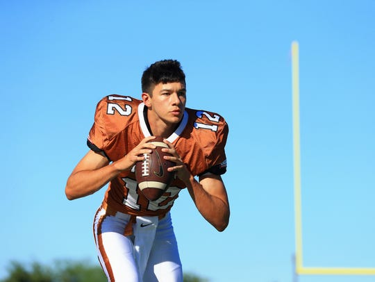Beeville Justin Gomez on Friday, July, 28, 2017, at