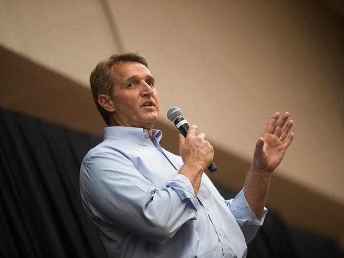 Sen. Jeff Flake says conservatives have gotten woefully