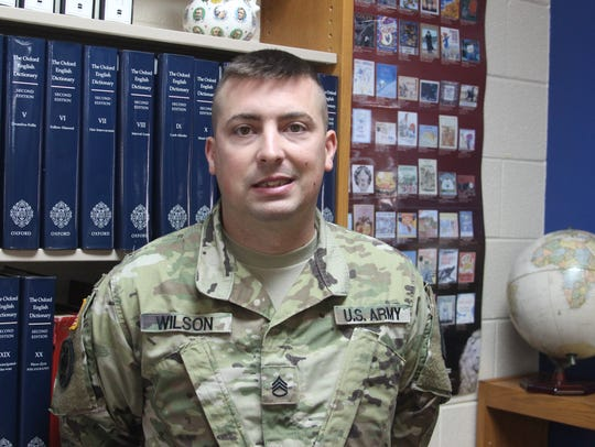 SSG Tommy Wilson is the new Tennessee National Guard