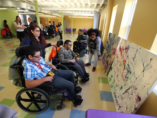 The Gateway Family YMCA-Rahway Branch hosted an Art