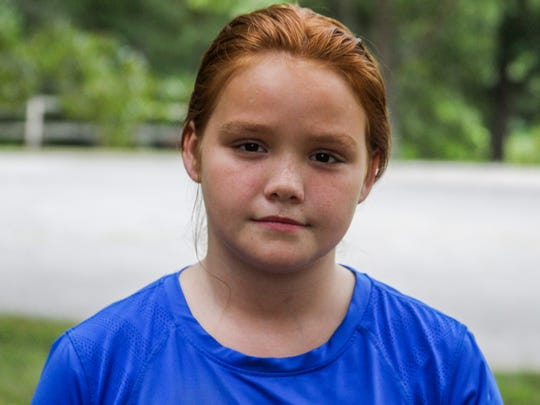 Arianna Bibee, 10, is no longer insured under TennCare and is currently having issues with her foot. Her mother was killed in 2011 and she was left in her grandfather's care. He filed insurance paperwork for the family and is working to get her and her other family members insured again.