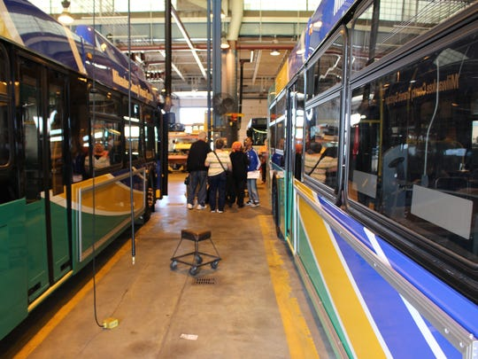 Doors Open Milwaukee guests will get the chance to tour the Milwaukee County Transit System fleet maintenance building.