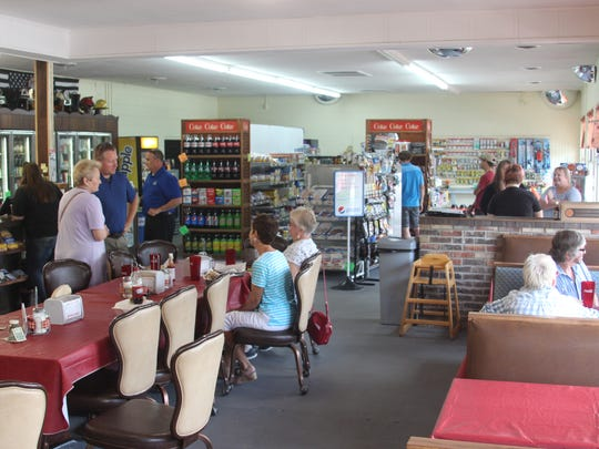 Inside the Elk Harbor Lakeside Campground General Store and Cafe before the Stewart County Chamber of Commerce held a ribbon cutting ceremony on August 8, 2017.
