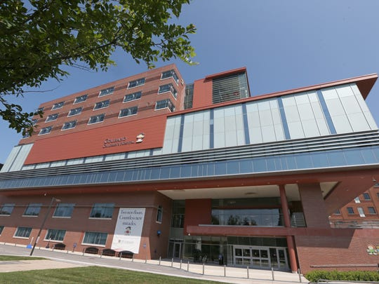 The Golisano Children's Hospital is opening it's new $45 million pediatric surgical center and intensive care unit in Rochester Wednesday, Aug. 9, 2017.