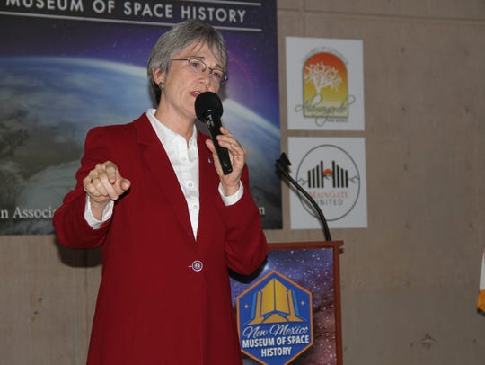 Secretary of the Air Force Dr. Heather Wilson spoke