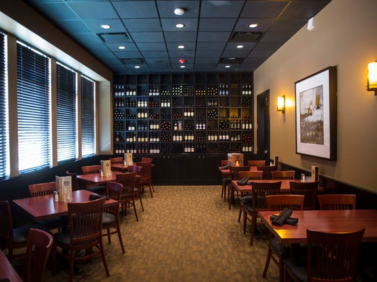 Dining rooms Wednesday, Aug. 9, 2017, at District 36 Wine Bar and Grille, 1375 S.W. Vintage Pkwy., Ankeny, Iowa.