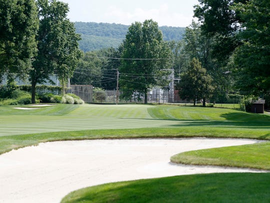 The 11th hole at En-Joie Golf Course.