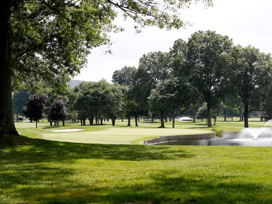 The 10th hole at En-Joie Golf Course.