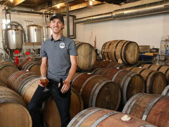 Kyle Vetter owns 1840 Brewing, an urban farmhouse brewery,
