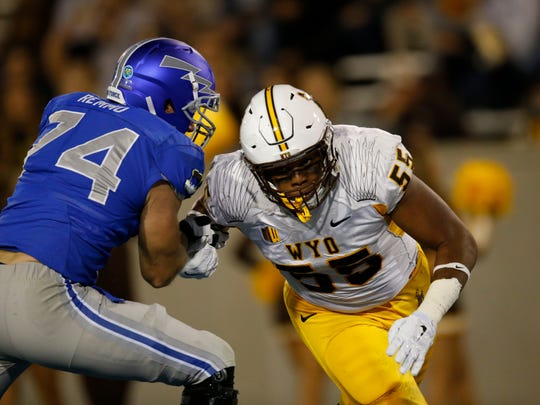 Eddie Yarbrough had a decorated career at Wyoming, but went undrafted in 2016.