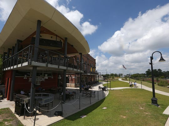 The Edison restaurant in Cascades Park is among the