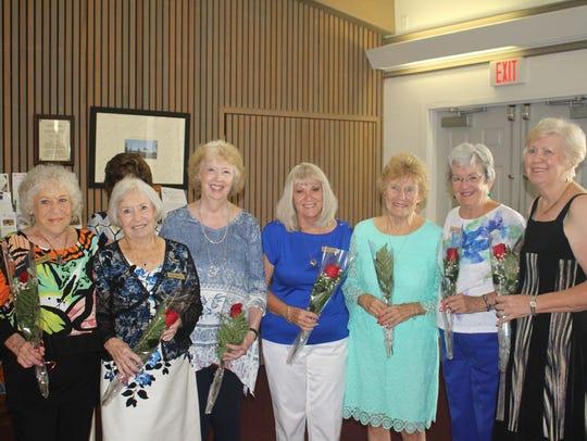 Members celebrating August birthdays are Doris Kosley,