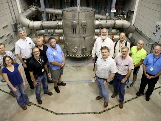 The strongest, continuous-field magnet in the world is the MagLab's heralded 45-tesla hybrid instrument, weighing 35 tons that has held the record since 1999.