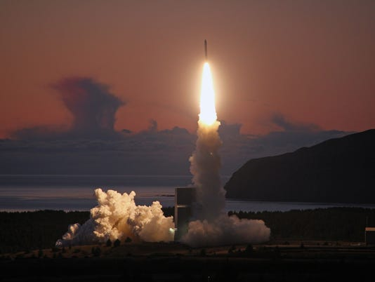 Minotaur IV Rocket Launches