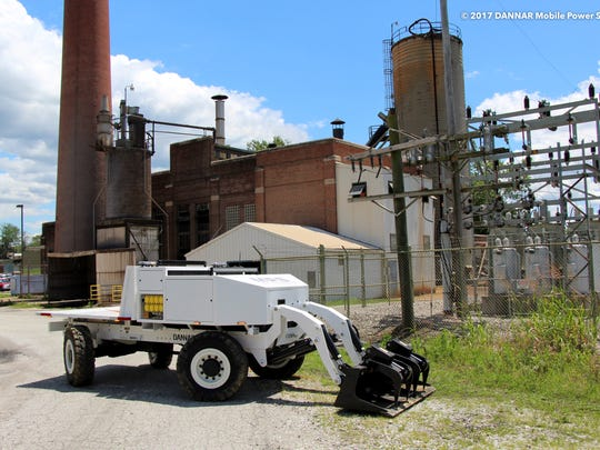 The Mobile Power Station is a revolutionary, zero emission heavy-duty work vehicle that is built for maintenance and response.
