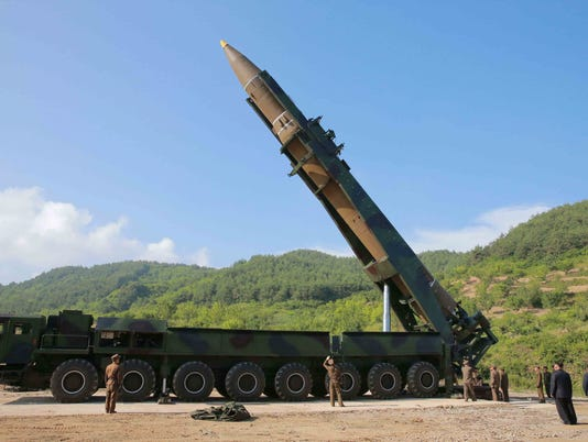 EPA (FILE) NORTH KOREA MISSILE LAUNCH TOWARDS JAPAN POL DEFENCE KOR