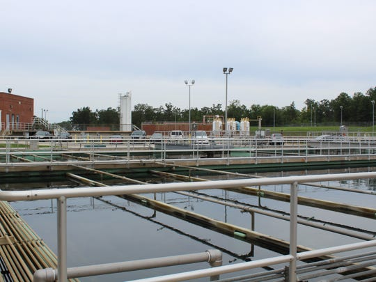 The T.L. Amiss Water Purification treatment plant in