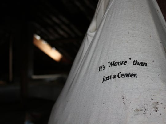 Inside the upper levels at the Randle T. Moore Center