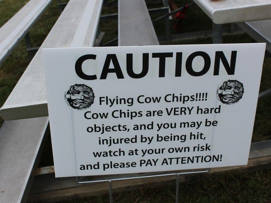 Beware of flying cow dung at the 43rd annual Wisconsin State Cow Chip Throw and Festival.