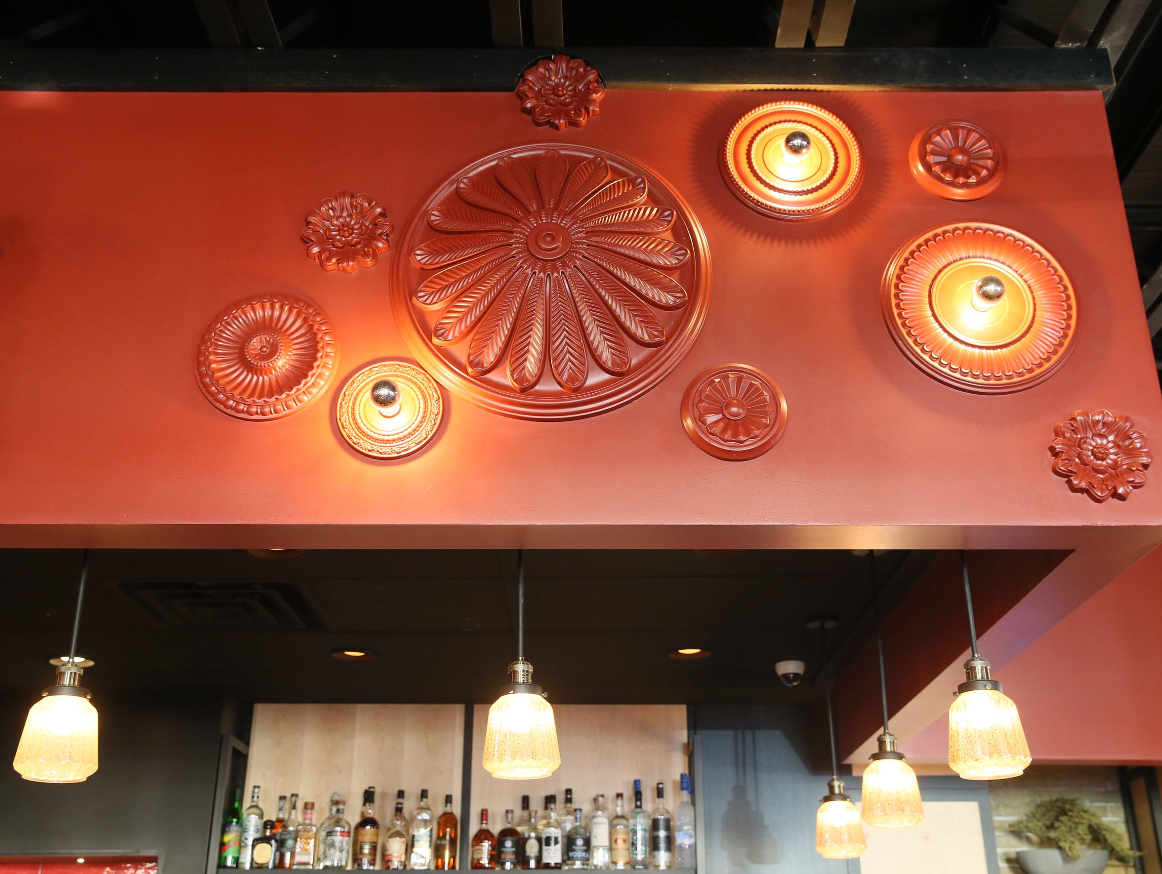 The bar area at Dandan, 360 E. Erie St., a modern American