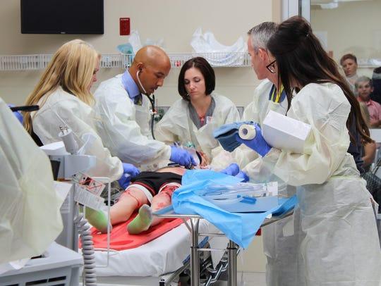 Phoenix Children's Hospital unveiled a new trauma center