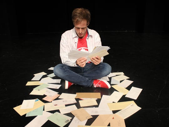 """Actor Mickey Rowe in """"The Curious Incident of the Dog"""