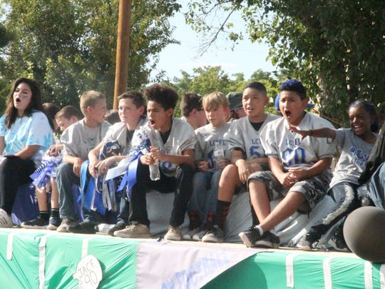 The Carlsbad Homecoming parade began at 4:15 p.m. Friday, Sept. 15 and included the Homecoming courts, students of Carlsbad schools and other floats by community members.