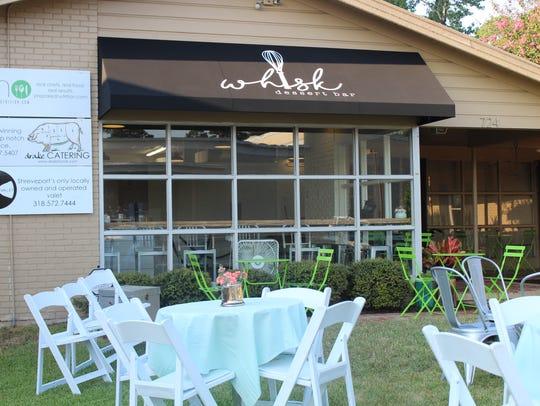 Whisk Dessert Bar is located at 724 Azalea Dr. in Shreveport.