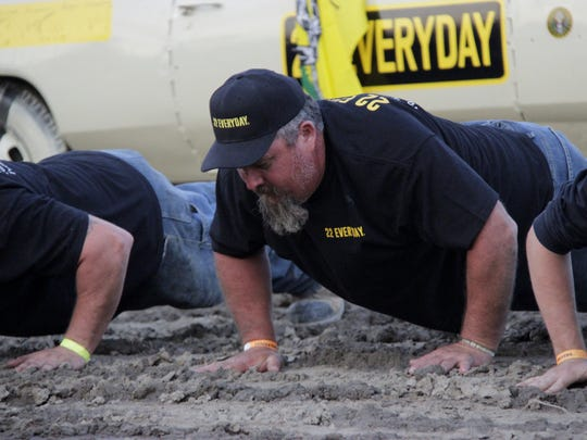 Local drivers compete for the top prize at the 19th annual Leland Fried Memorial Car Demolition Derby at the Tulare County Fair Saturday night.