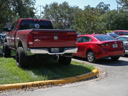 This driver found a creative --if unauthorized --solution