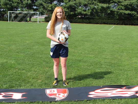 Delsea's Brianna Russo verbally committed to Monmouth University this week.