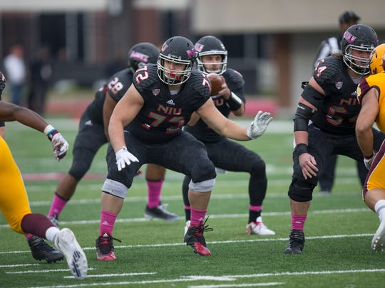 Jordan Steckler, a 2015 Two Rivers graduate, is considered a potential late-round selection in this weekend's NFL draft.
