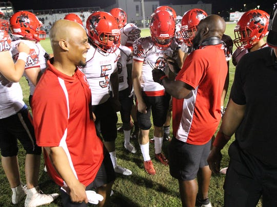 Scenes from the North Fort Myers vs. Island Coast high school football game on Sept. 22.