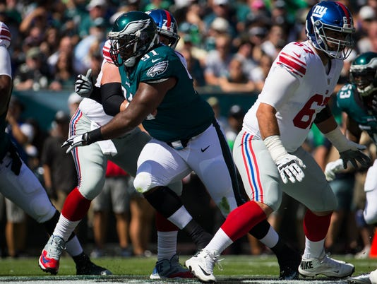 Sports: Eagles-Giants