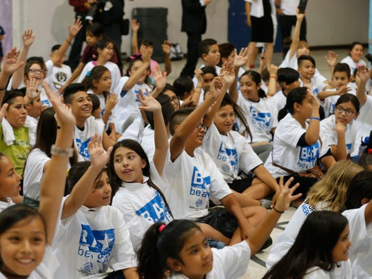 "WWE and the Boys & Girls Club of El Paso hosted a ""Be a STAR"" bullying prevention rally with WWE Superstars Sin Cara, who attended this club growing up, Naomi, Xavier Woods, Big E and Kofi Kingston."