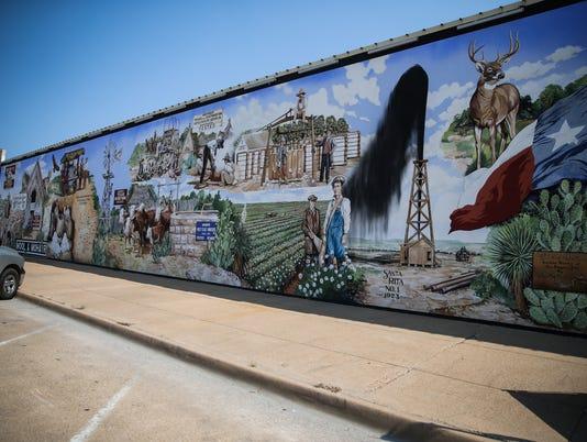 Murals downtown San Angelo