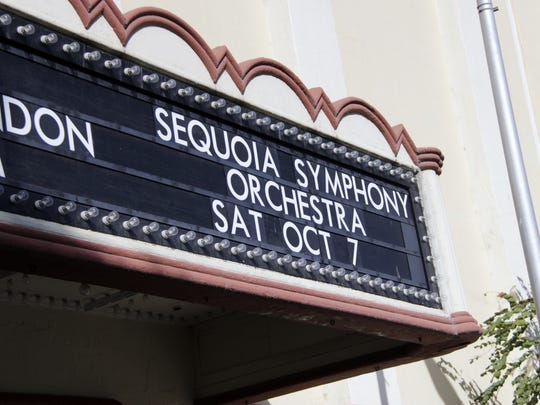"Sequoia Symphony Orchestra presents""October is for Lovers"" at Visalia's Fox Theater on Saturday, Oct. 7."