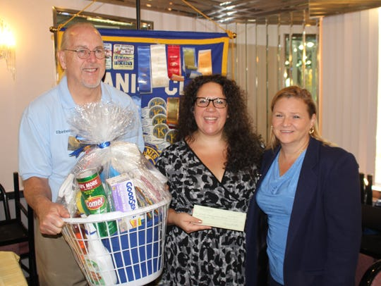 Kiwanis Club of Greater Parsippany donated money and