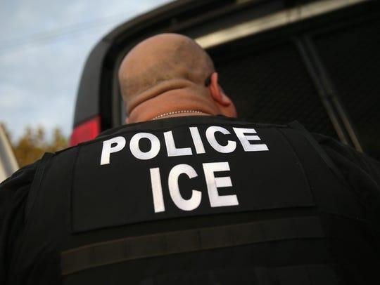 File photo: U.S. Immigration and Customs Enforcement