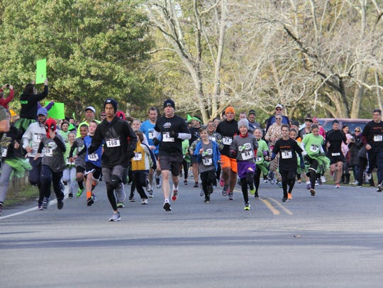 Spooky Sprint 5K Run/Walk will be held on Saturday,
