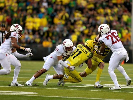 NCAA Football: Washington State at Oregon