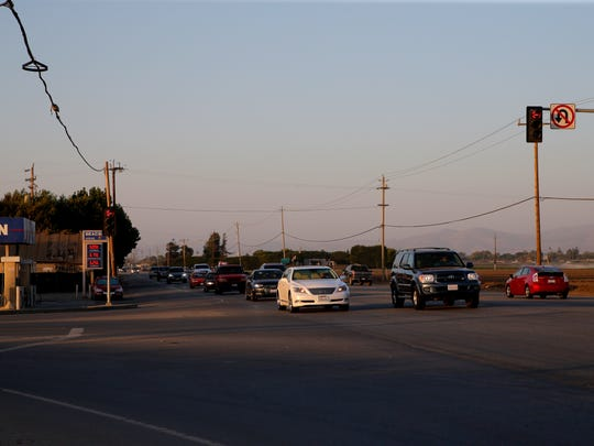 The corner of Hitchcock Road and Highway 68 just south of Salinas is marked only by a lone gas station on one side and a field on the other.
