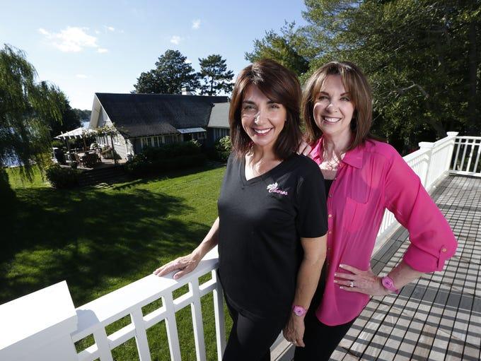 Stephanie Marsh (left) and Kellyann Skorupski own Chores,