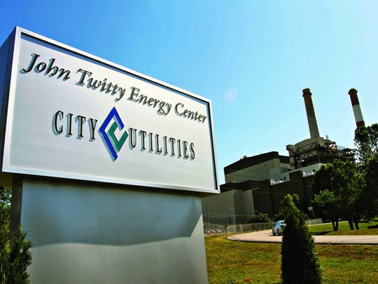 City Utilities burns coal to make electricity at the John Twitty Energy Center .
