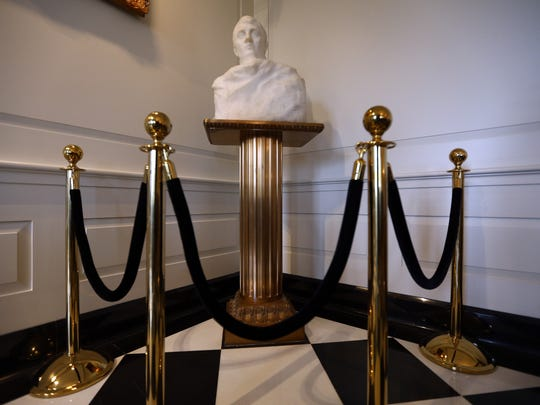 A marble bust of Napoleon that has resided in Madison borough hall for 85 years has been revealed to be a long-lost artwork by revered French sculptor Auguste Rodin.