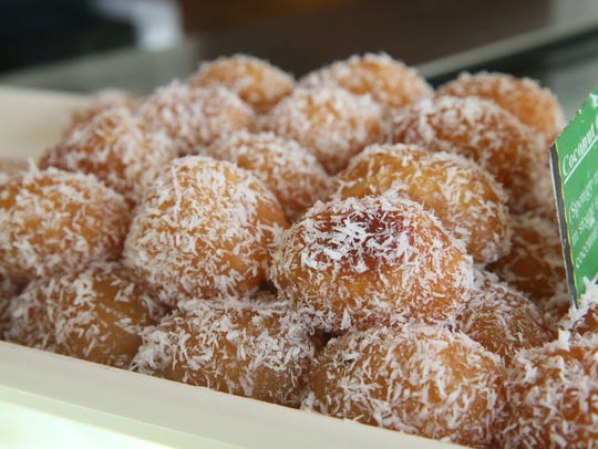 Coconut gulab jamun are a popular sweet for Diwali,