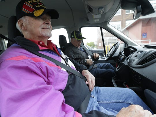 World War II Navy veteran Jim Lamb, 90, of Greendale