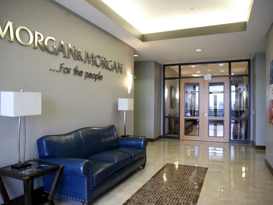 The Morgan & Morgan law offices in the Gateway Center