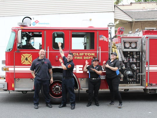 Clifton Fire Department made a spcial delivery to a